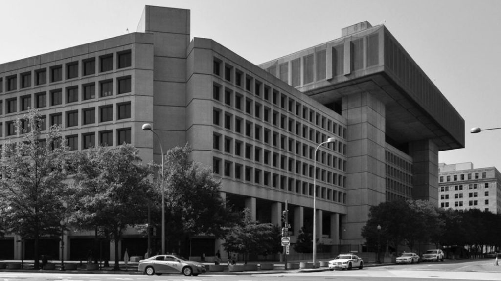 FBI Building in Washington DC